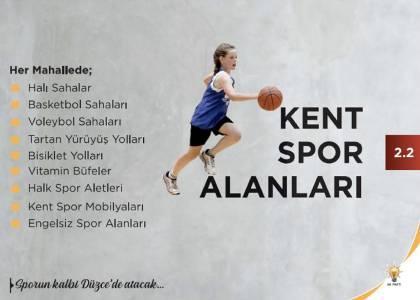 Kent Spor Alanları Projesi