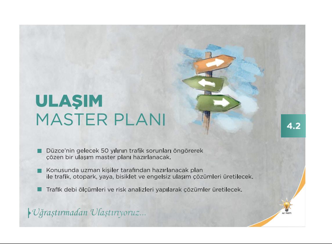Ulaşım master planı projesi