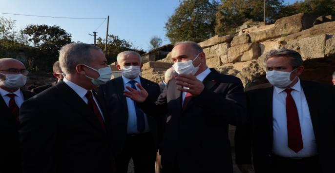 Faruk Özlü, MHP Genel Başkan Yardımcısını Ağırladı