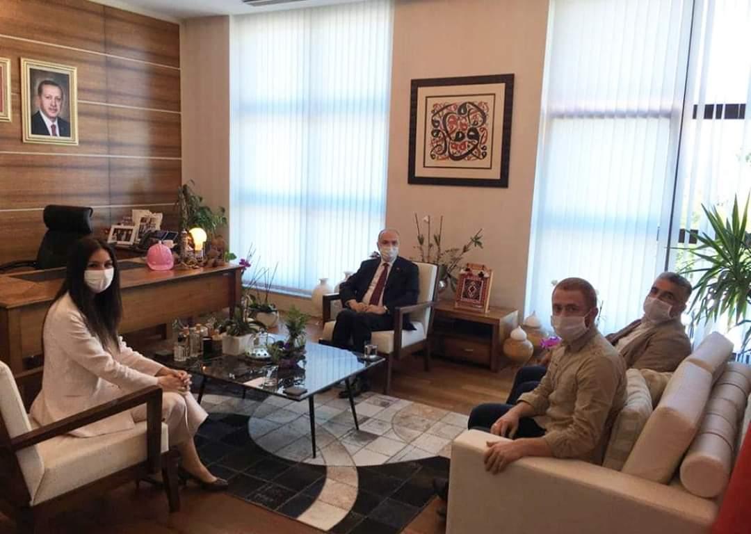 Faruk Özlü'nün Ankara'daki Ziyaretleri