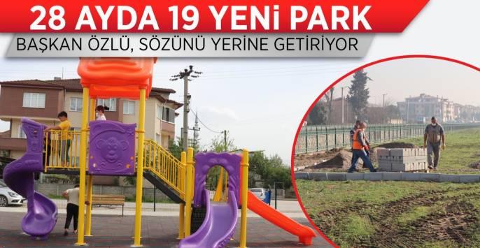 Başkan Özlü'den Her Mahalleye Bir Park Sözü
